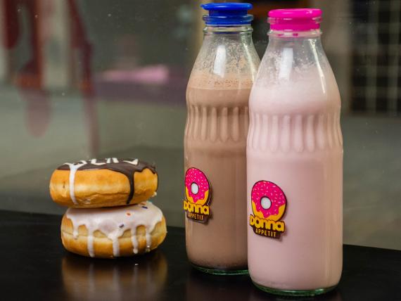 Promo - Milk shake + donut