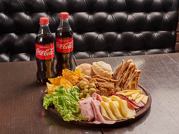 Promo - Tabla Piacere + dos Coca Cola 500 ml
