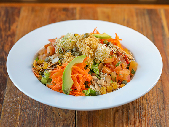 Ensalada veggie salad