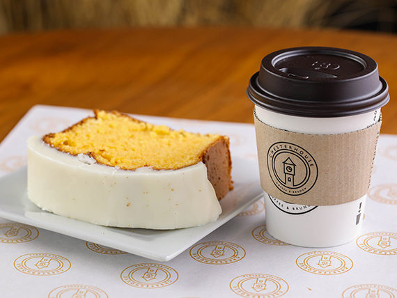 Promoción desayuno - Café + budín