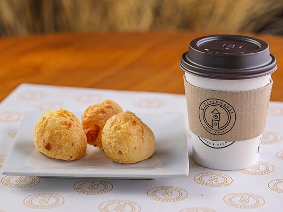 Promoción desayuno - Café + scon