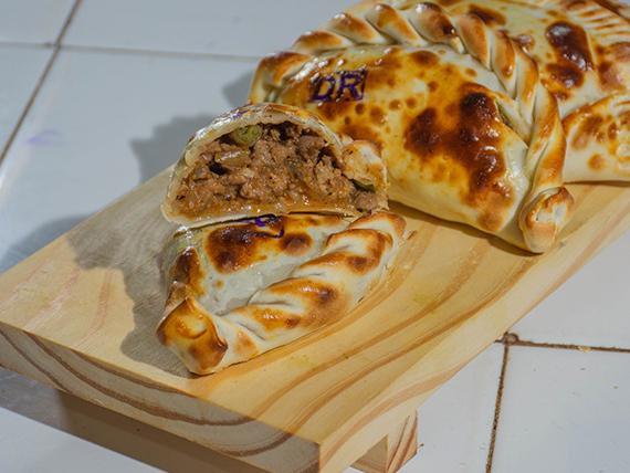 Empanada de carne criolla sin pasas