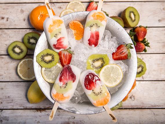 Ice pop multifruta
