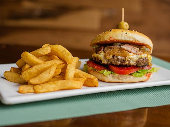 Sándwich de hamburguesa RyB