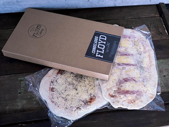 Pizza muzzarella (2 unidades)