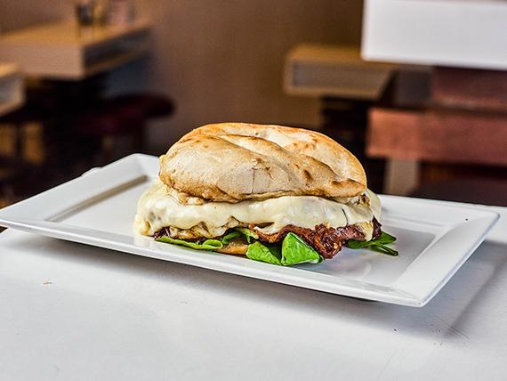 Sándwich de lomo azul Francia
