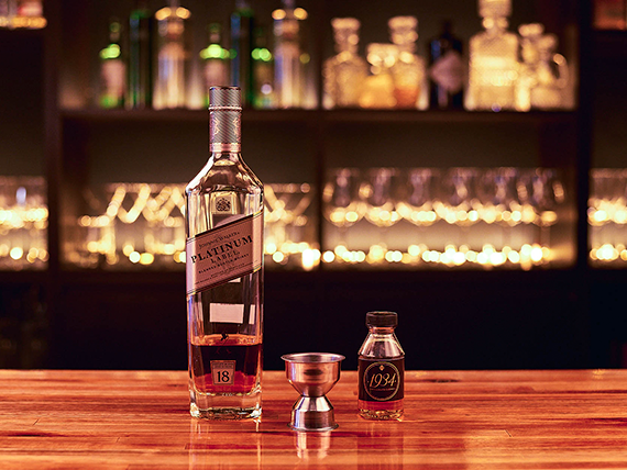 Whisky Johnnie Walker Platinum