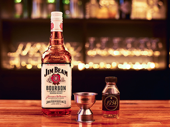Whisky Jim Beam Bourbon White