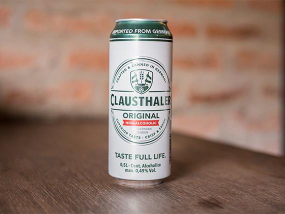 Cerveza Clausthaler en lata 500 ml