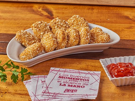 Nuggets de pollo crunchy (10 unidades)