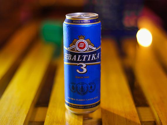 Cerveza Baltika 3 - lata 450 ml