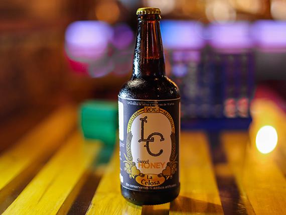 "Cerveza Artesanal ""La Celosa"" Ginger IPA 500 ml"