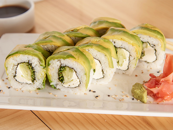 77 - Tofu green roll (8 piezas)