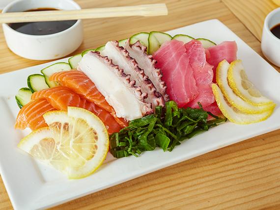 97 - Sashimi mixto (6 cortes)