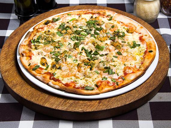 Pizza frutti di mare (8 porciones)