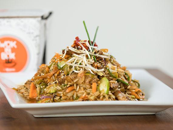 Classic wok de cerdo