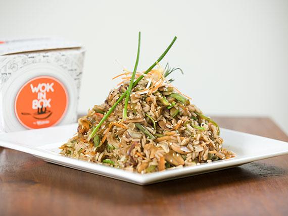 Classic wok de vegetales