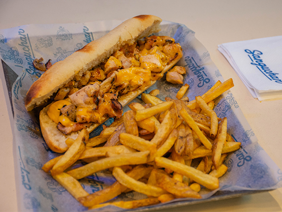 Combo - Sándwich de pollo a la plancha