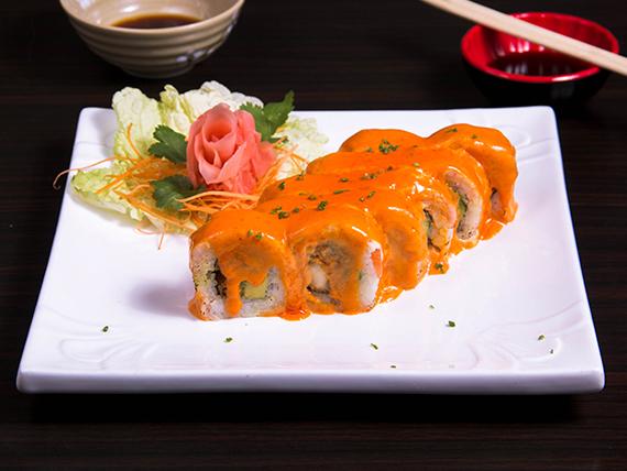 33 - Spicy roll (10 piezas)