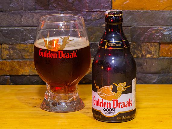 Cerveza Gulden Draak 9000 Quadruple