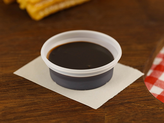 Dip de salsa de chocolate