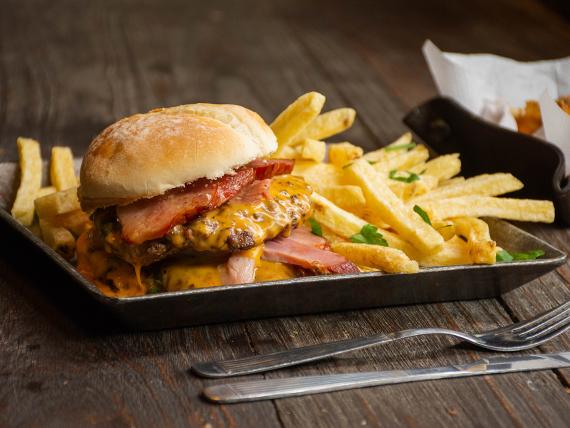 Burger Tope de Gama
