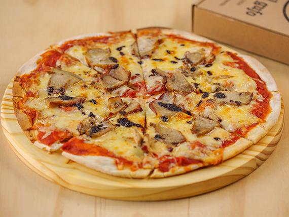 Pizza Maiale E Aglio