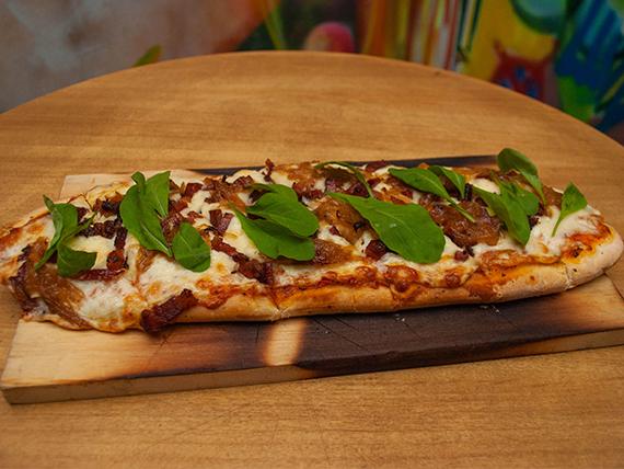 Rústica's Flatbread Pizza