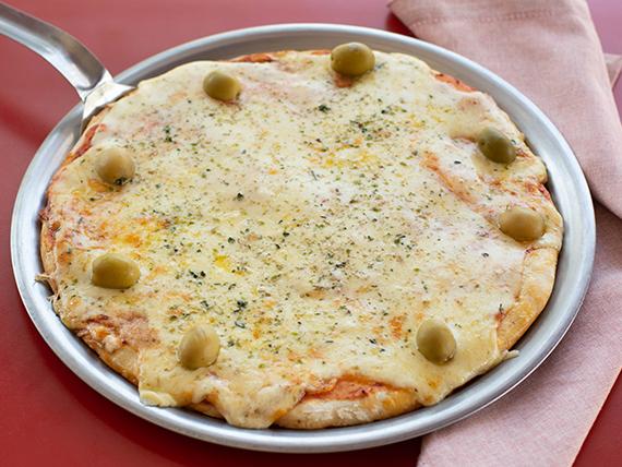 Pizza mozzarella grande