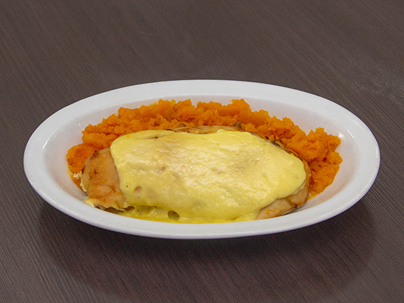Vianda de pollo a la mostaza