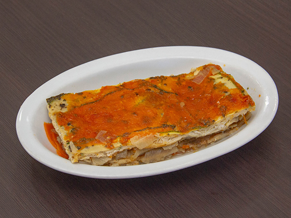 Vianda Lasagna vegetariana