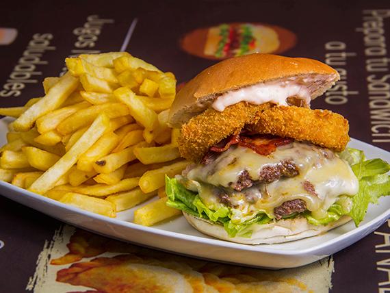 Hamburguesa del chef