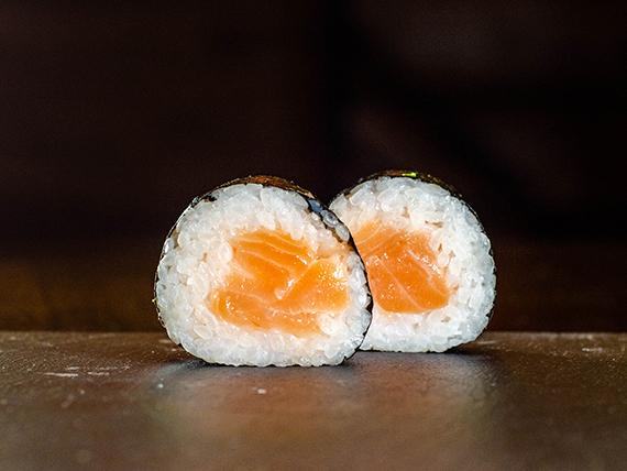 Maki salmón (10 Unidades)