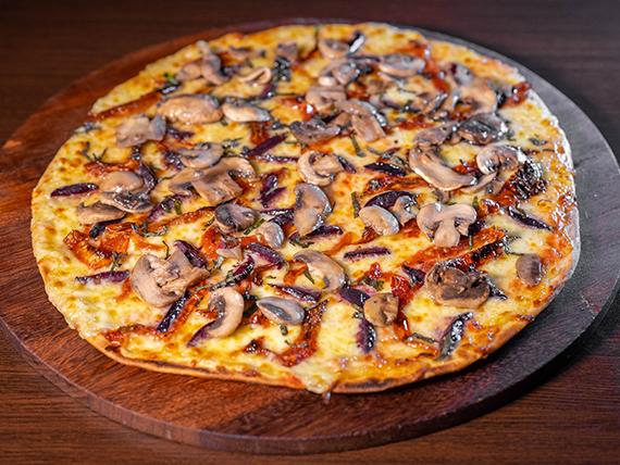 Pizza caprese especial
