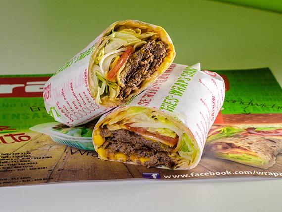 Wrap burger