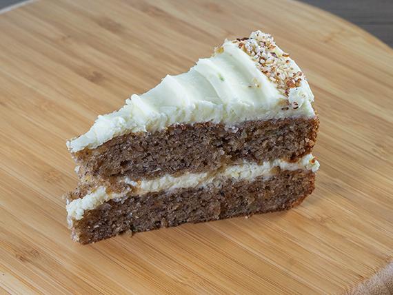 Porción torta ambar