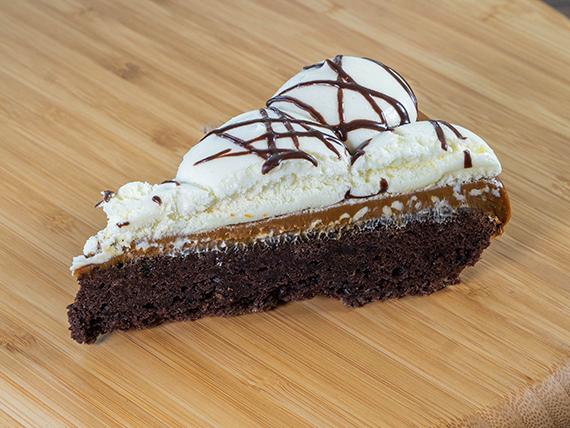 Porción de torta marquise