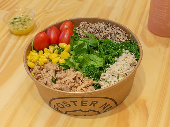 Bowl de quinoa y atún