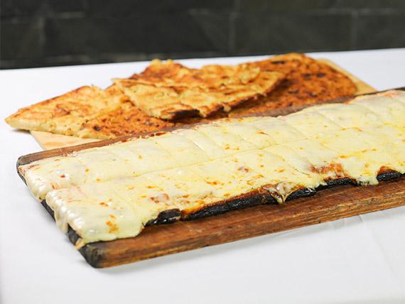 Promo metro (comen 4) - 1/2 m de muzzarella + 3 fainá