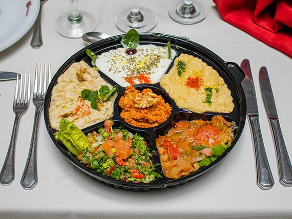 Degustación 6 variedades de picadas orientales