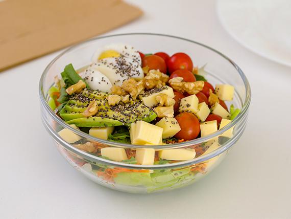 Ensalada vegetariana completa