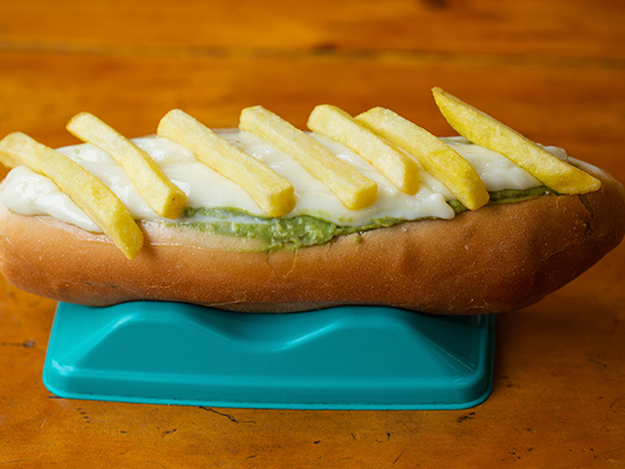 Sándwich completo papapleto