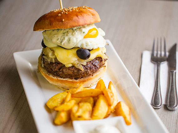 Chilena burger