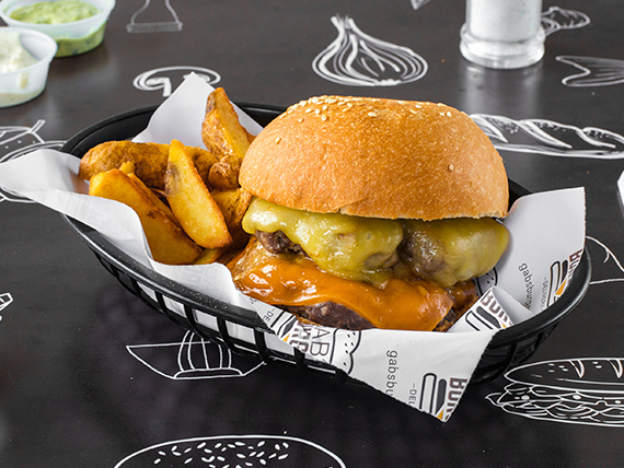 Doble cheese burger