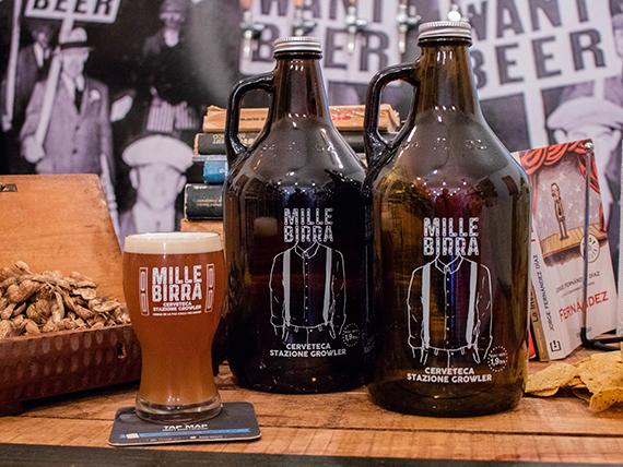 2 cervezas en botellón 2 L