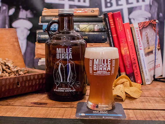 Cerveza en botellón 1 L