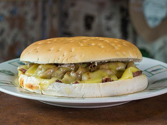 11 - Sándwich gigante barros luco + bebida