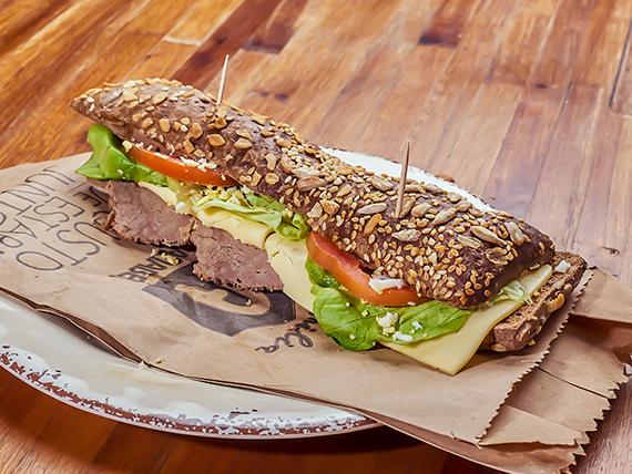 Sándwich de pecetto