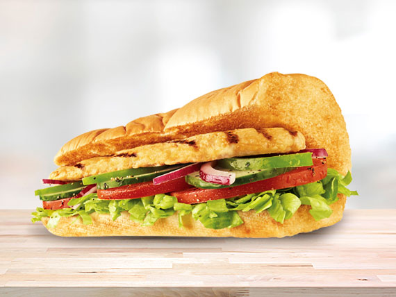 Subway de pechuga de pollo (15 cm)