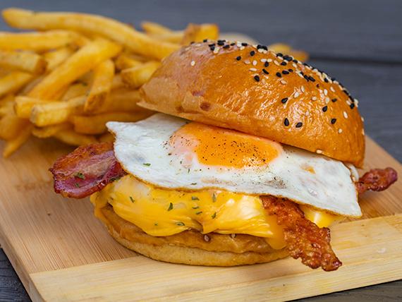 Burger La Napolitiana